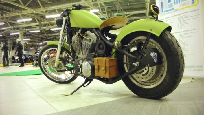 Боббер из Harley Davidson Sportster