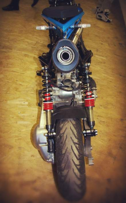 Тюнинг скутера Peugeot Satelis 250