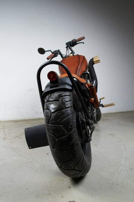 Бульдог - кастом из Honda Steed