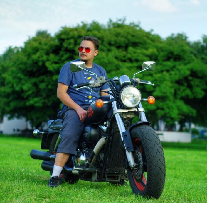 Тюнинг мотоцикла Suzuki Desperado