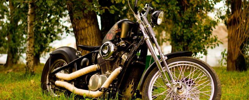 Кастом из Honda Steed