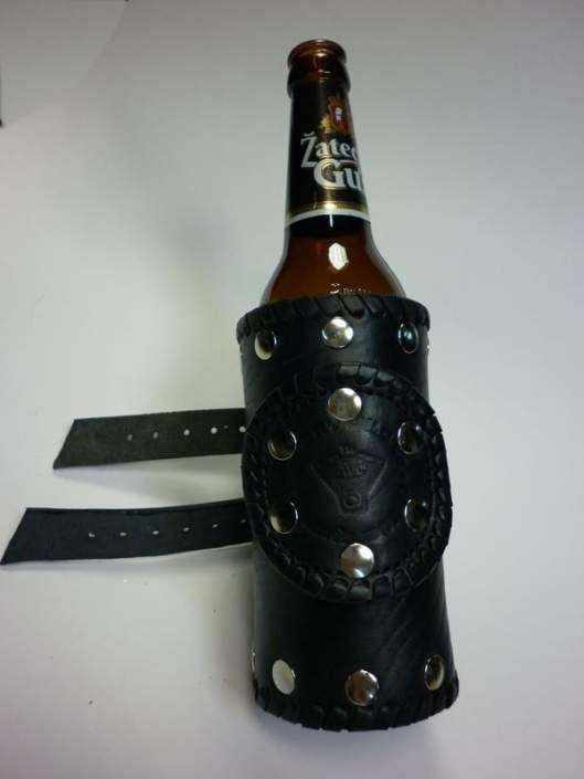 Держатель для банок или бутылок на руль