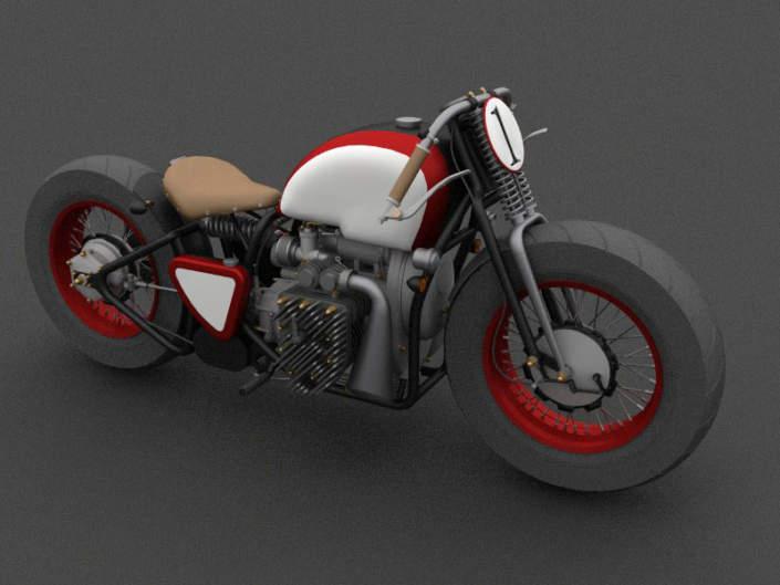 3D модели мотоциклов