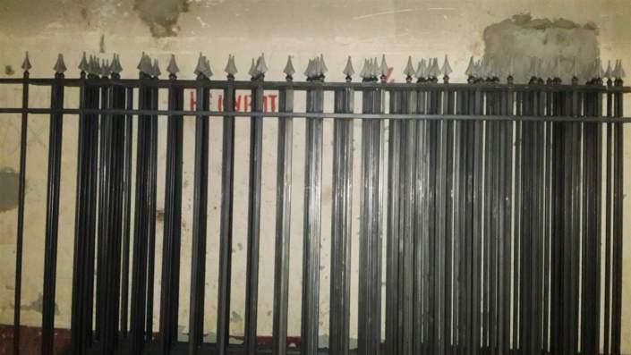 Сварные заборные секции