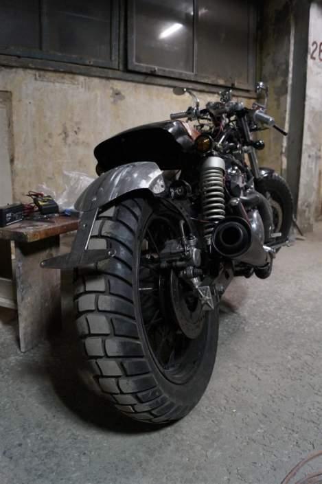 Подкрылок на мотоцикл