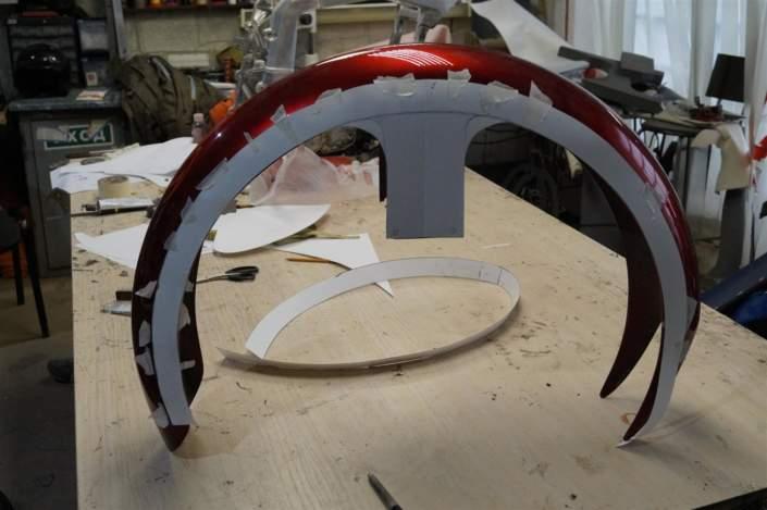 Металлическое крыло вместо пластикового