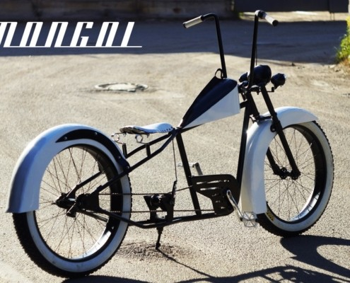 Кастом-велосипед Mongol